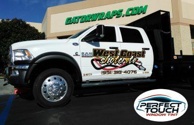 Dodge Ram 5500 Window Tint