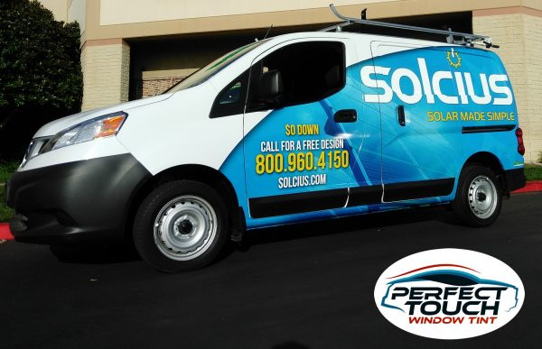 Nissan NV200 S Window Tint
