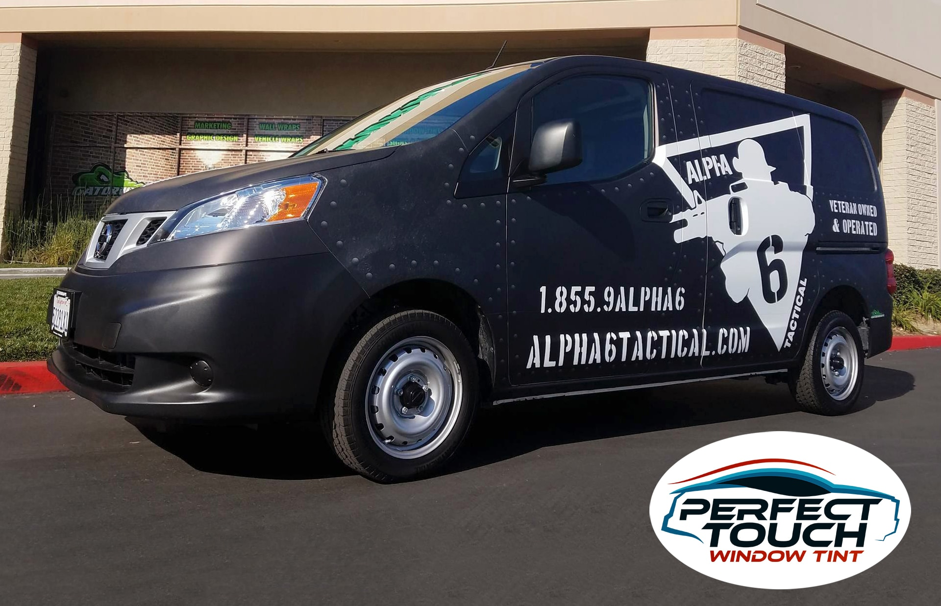 Nissan NV200 Window Tint