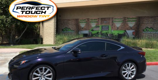 2016 Lexus RC 200 Coupe Window Tint