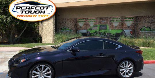 2016 Lexus RC 200 Coupe Window Tint