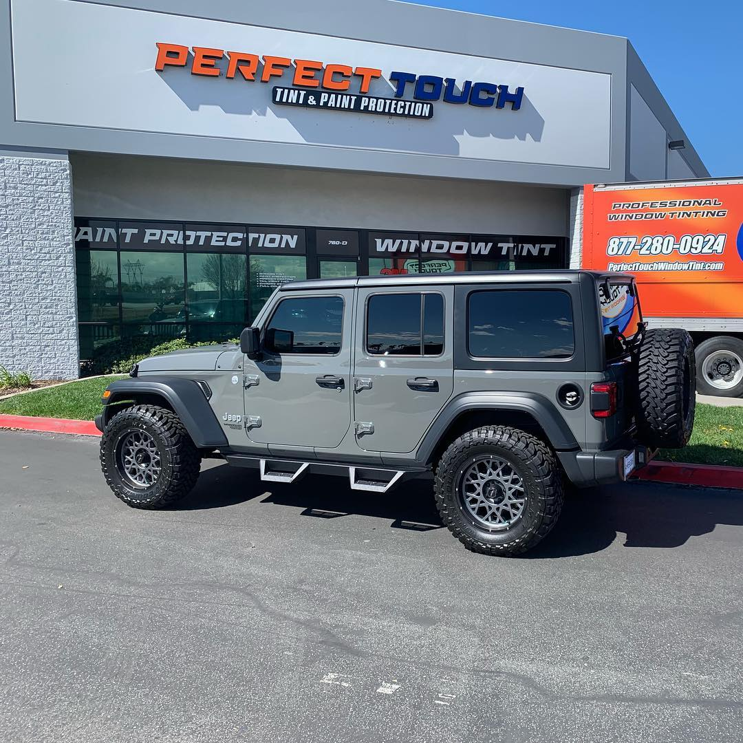 2019 Jeep Wrangler: Thank You Miss Naomi For Letting Us Tint Your 2019 Jeep