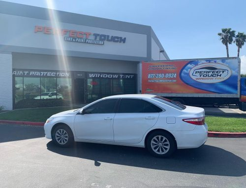Thank you Beilei for letting us tint your Toyota Camry with 3M Window film, and window tint.