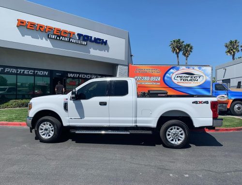 Thank you Brian for letting us tint your Ford F-250 3M Window Film all around!