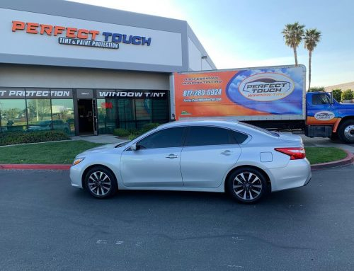 Thank you Jackie for letting us tint your Nissan Altima with 3M Window film