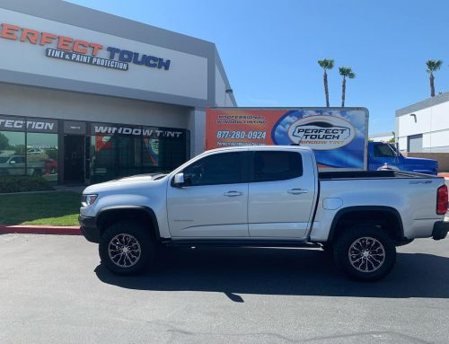 Thank you Jacob for letting us tint your Chevrolet Colorado with 3M window tint