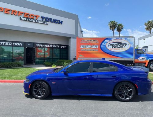 Thank you James for letting us tint your Dodge Charger with 3M window tint