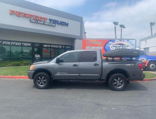 Thank you Louis for letting us tint your Nissan Titan with 3M window tint