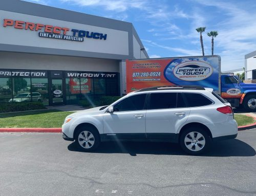 Thank you Maria for letting us tint your Subaru Outback with 3M window tint