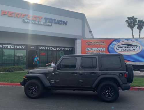 Thank you Melinda for letting us tint your Jeep Wrangler with 3M Windowfilm all around!