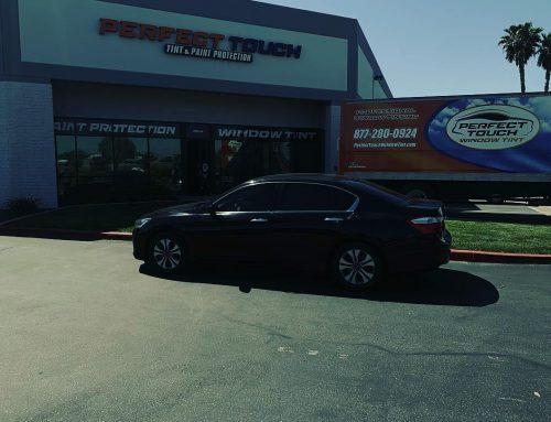 Thank you Mohamed for letting us tint your Honda Accord with 3M window tint all around!