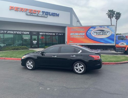Thank you Yesenia for letting us tint your Nissan Altima with 3M window tint