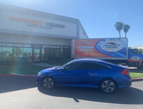 Thanks Aaron for letting us tint your Honda Civic with 3M Window Film Tint all around!