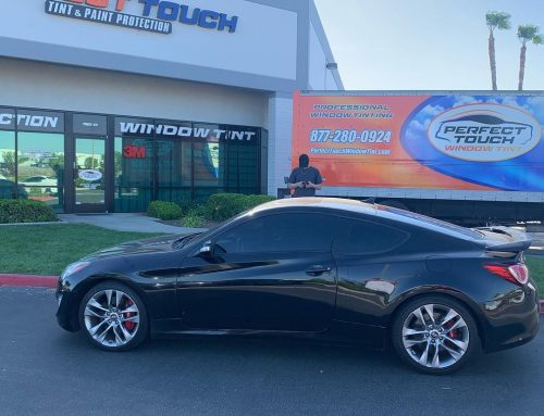 Thanks Christian for letting us tint your  Hyundai Genesis with 3M window tint