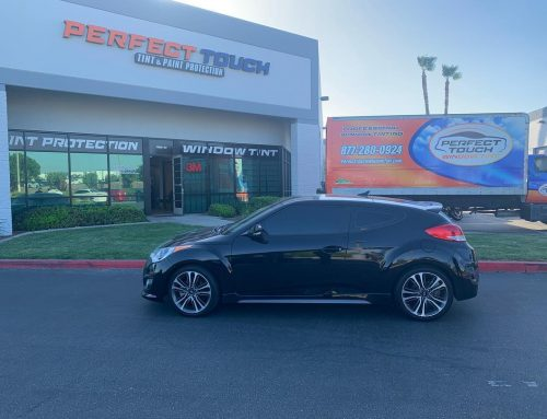Thanks Daron for letting us tint your Hyundai Veloster with 3M window tint