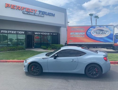 Thanks Jeff for letting us tint your Subaru BRZ with 3M window tint
