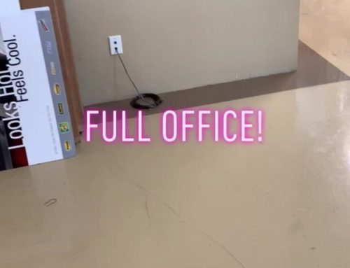 Full office!!! 3M window tint