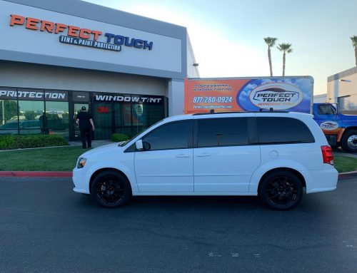 Thank you Guillermo for letting us tint your Dodge Grand Caravan with 3M window tint