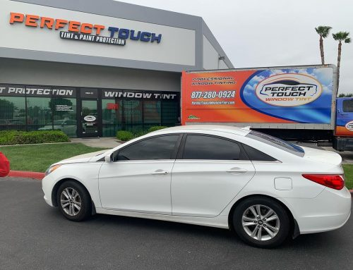 Thank you Jae for letting us tint your Hyundai Sonata with 3M window tint