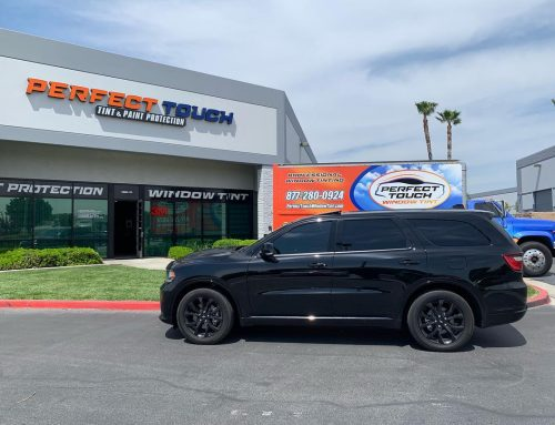 Thank you Kenny for letting us tint your  Dodge Durango with 3M window tint