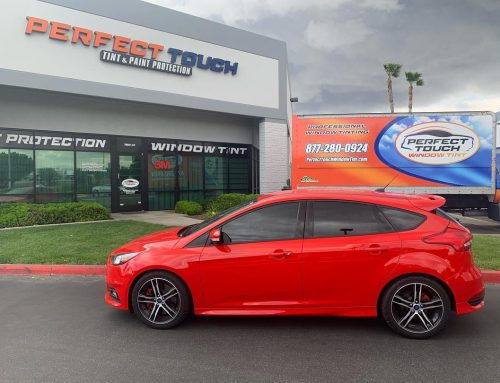 Thank you Luis for letting us tint your Ford Focus with 3M window tint