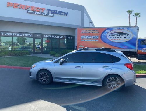 Thanks Josh for letting us tint your Subaru with 3M window tint