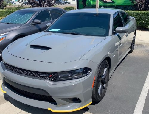 Thank you Nick for letting us tint your new Dodge Charger with 3M Window Tint!