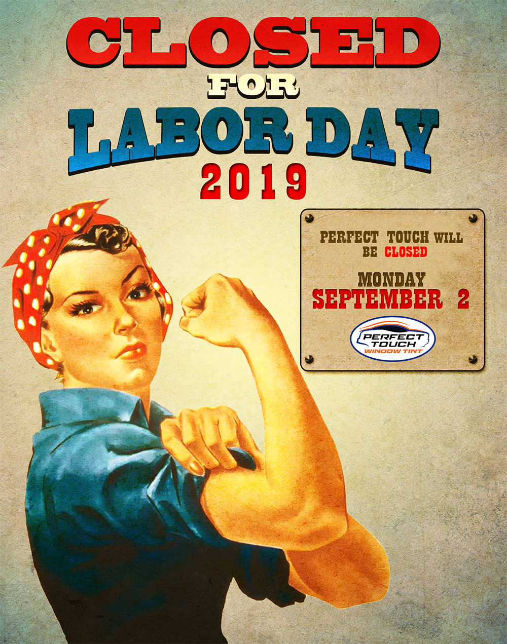 Labor Day 2019 Perfect Touch