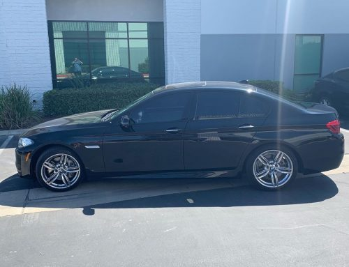 Thank you Brenda for letting us tint your brand new BMW 535i with 3M window tint