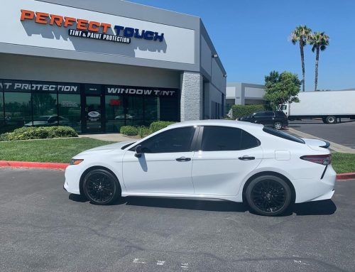 Thank you @jacckiee23_ for letting us tint your brand new 2020 Toyota Camry with 3M window tint