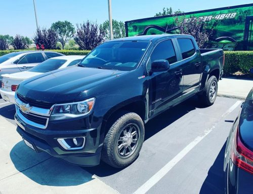 Thank you Jasper for letting us tint your Cevrolet Colorado with 3M window tint