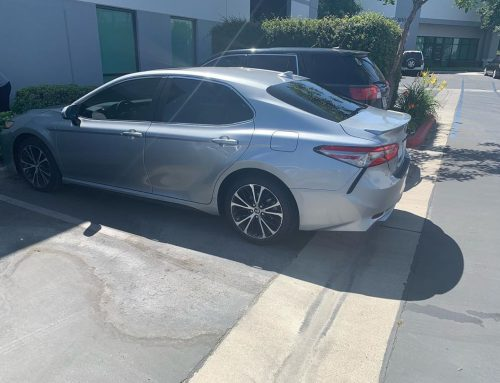 Thank you Omar for letting us tint your Toyota Camry with 3M window tint