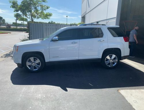 Thank you Taylor for letting us tint your GMC Terrain with 3M window tint