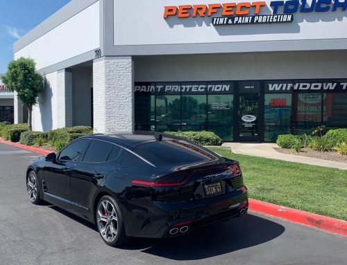 2019 Kia Stinger window tint