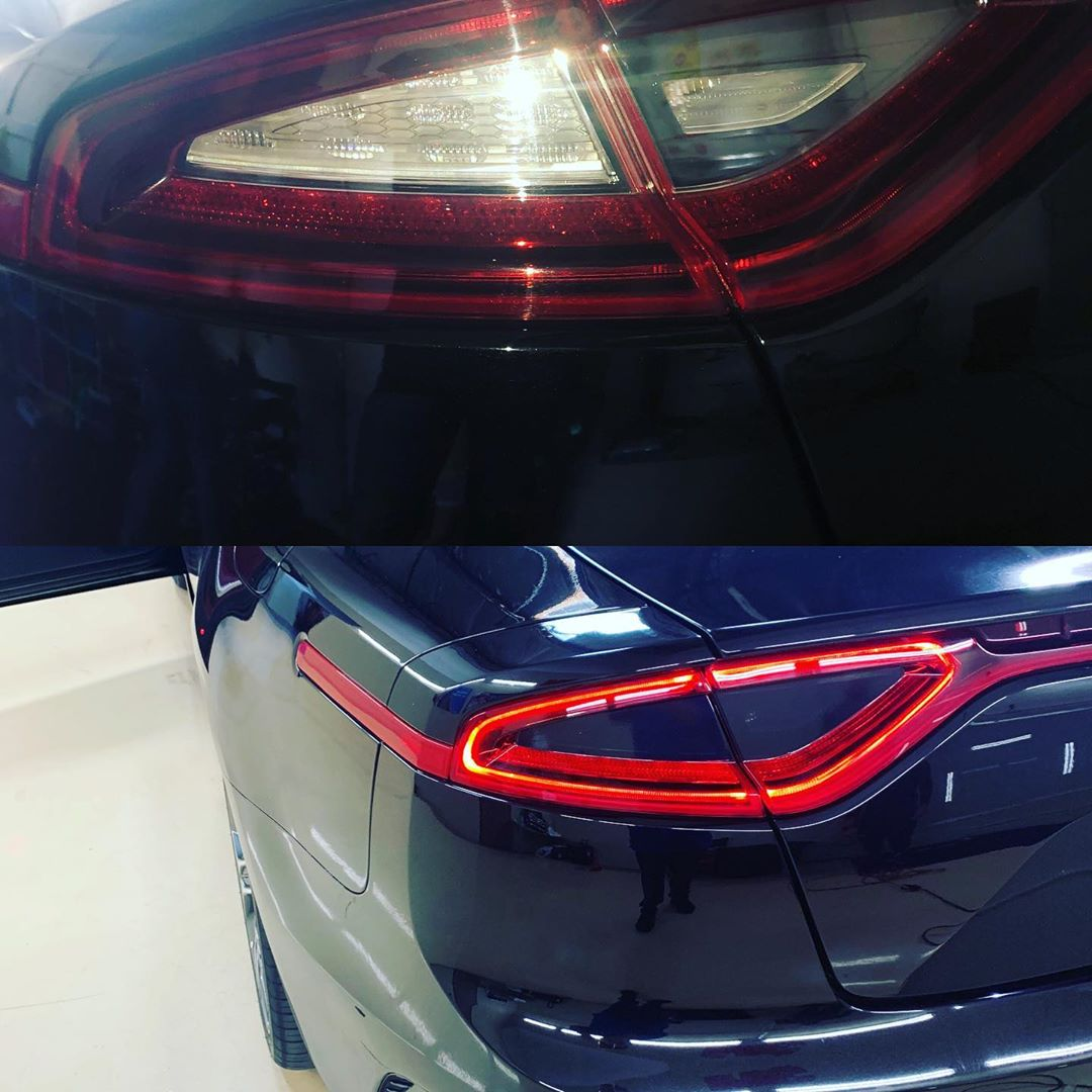 Window Tinting Prices Near Me >> Before and after 2019 Kia Stinger tail light tint ...