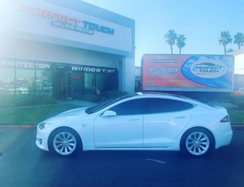 Thank you Tony for letting us Window Tint your Tesla Models 3M Window Film all around!