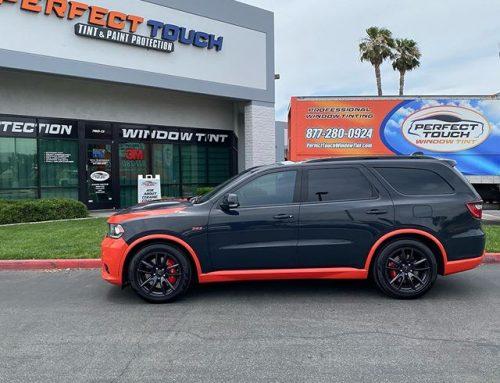 Custom Dodge Durango SRT Window Tint and 3M 2080 Custom Wrap!