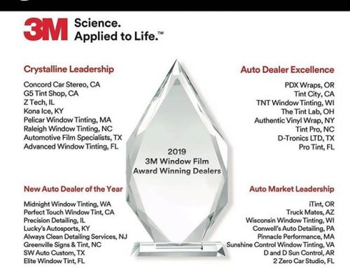 We shining!!!! 2019 new auto dealer of the year! Can't thank our customers and our distributors enough for all the support. 🙏